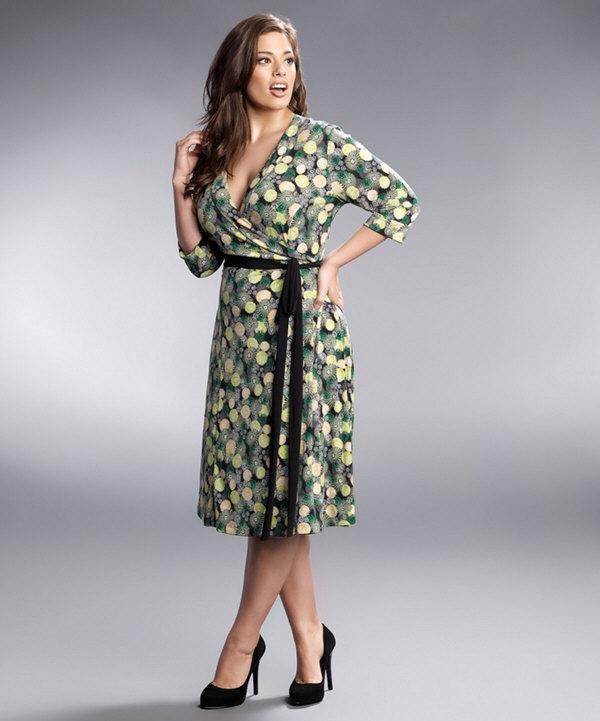 144 Как подобрать полной женщине платье