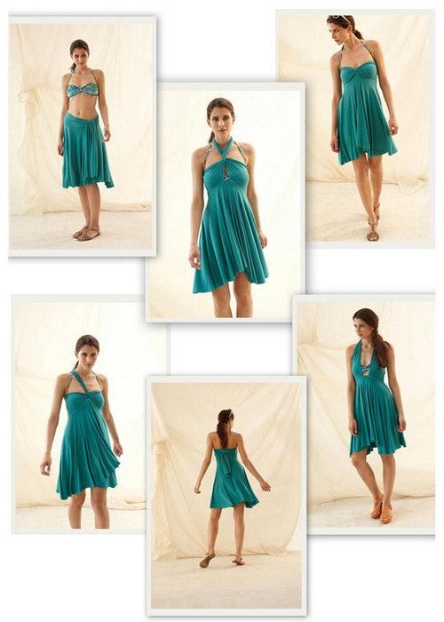 Как сделать из платья трансформер юбку