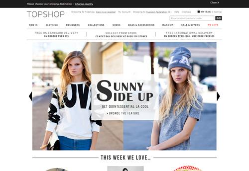 Топшоп Одежда Официальный Сайт