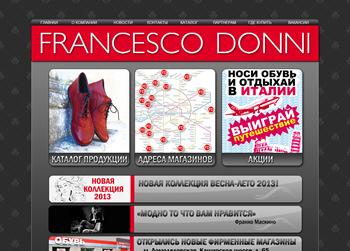Купить Обувь Франческо Донни